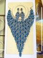 2017 Novos Conjuntos de jóias de Casamento África Full Gota Forma Colar de Cristal Austríaco Brincos Para As Mulheres Conjuntos De Jóias de Noiva XNG009