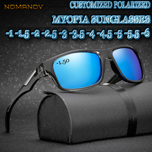 d8ea08e96ac Custom Made Myopia Minus Prescription Polarized Lens Summer Style Color Film  Outdoor Fashion Polarized Sunglasses -