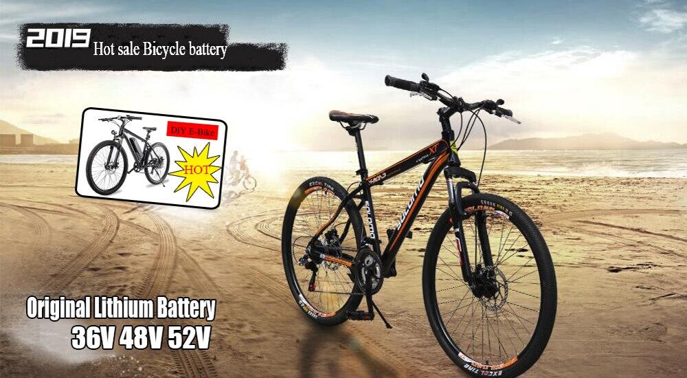 36V volt 14ah Lelectric electric mountain bike  Li-Ion battery pack Backup