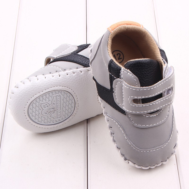 Baby Shoes Indoor Toddler Nubuck Leather Shoes Infant Girl Boy Soft Sole Anti Slip Shoes Moccasins First Walker