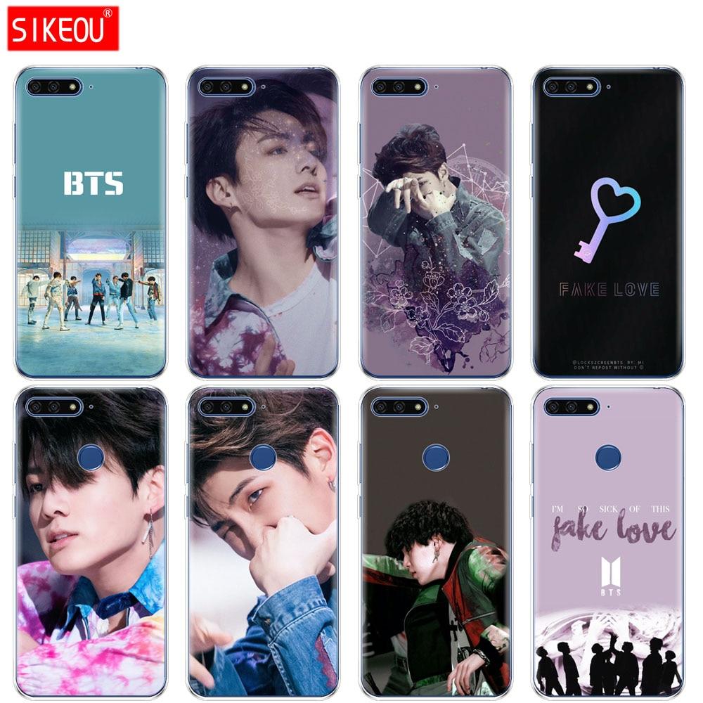 Phone Bags & Cases Silicone Case Bts Got7 For Huawei Nova 3 4 Honor 7c 7a 8 8x 9 10 Y5 Y6 Y7 Y9 V20 Lite Pro 2019 2018 Cover