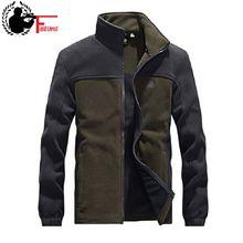 Chaqueta táctica militar de forro polar con cremallera para hombre, chaqueta de marca de diseñador de retales, chaqueta de hombre, cárdigan negro de talla grande 3XL 4XL