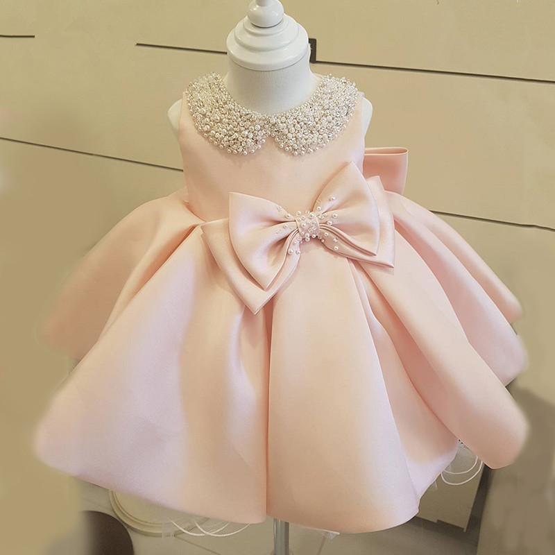 Infant Newborn Baby Girl Lace Tutu Dress Bunny Party Wedding Princess Dresses