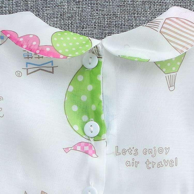 2016 Summer Wedding Clothing dress Baby Girl turn down collar Children Print dress cute newborn tutu dress toddler girls a line