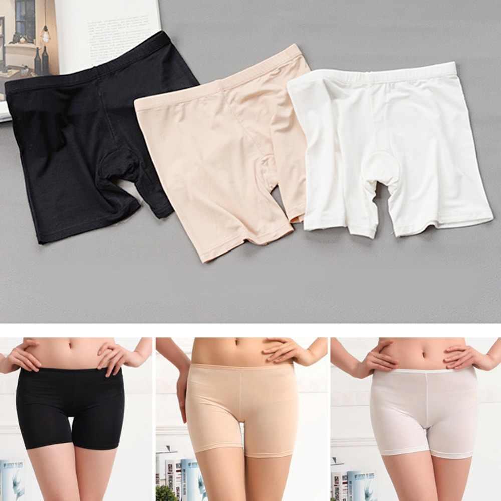 a53f8c8b208dd Women's Ladies Dancing Short Tights Spandex Elastic Pants Safety Underwear