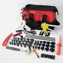 купить pdr tools kit paintless dent repair glue tabs puller lifter car bodyworking remove dents remover fix auto body system pulling недорого