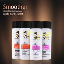 4 ШТ. один комплект бесплатная доставка 5% Бразильский Кератин Лечение выпрямления волос сделать волосы гладкими горячая продажа Волос, Лечение Кожи Головы(China (Mainland))