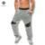 2017 Homens da Mola Reta Encaixa Calças Trackpants Sweatpants Corredores Pantalon Calças Ativos Calças dos homens Moda Casual Slim Fit