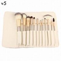 12 Pcs Professional Makeup Brushes Set Soft Synthetic Make Up Brush Eyeshadow Eyeliner Lip Brush Kits
