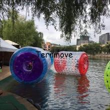 Ходить Колесом игры на воде, Гуляя трубки ролик воды ходьбе Rollering шар колесо для взрослых детей