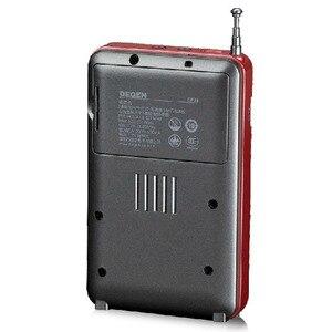 Image 3 - DEGEN DE 28 FM/MW/SW Sóng Ngắn Multiband Máy Thu Vô Tuyến Di Động Bỏ Túi Hỗ Trợ Đài LED Backlit máy In Y4219A
