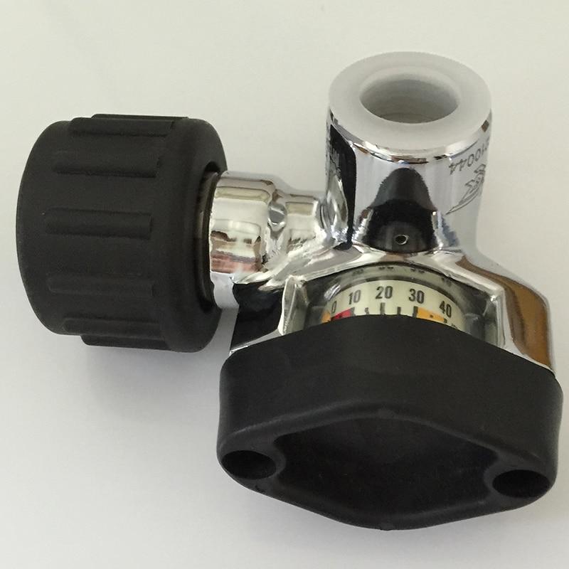 Новый стиль Air цилиндр Клапан 30mpa с большим Давление датчик для ада/pcp воздушный пистолет/Пейнтбол бак/углерода волокно цилиндр-E ...