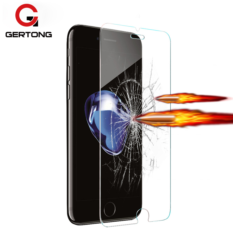 GerTong Tempered Glass Protective Film For iPhone 4 4s 5 5c 5s SE 6 6s plus
