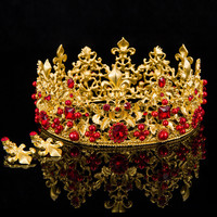 4 Color Designs Pearl And Crystal Bridal Tiara Crowns Bride Hair Ornaments Women Hair Diadem Wedding