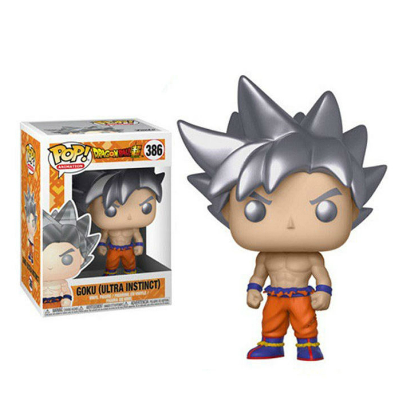 Funko Pop Dragon Ball GOKU ULTRA INSTINCT 2019 Action Figure Collectible Model Toys For Children Birthday Boys Christmas