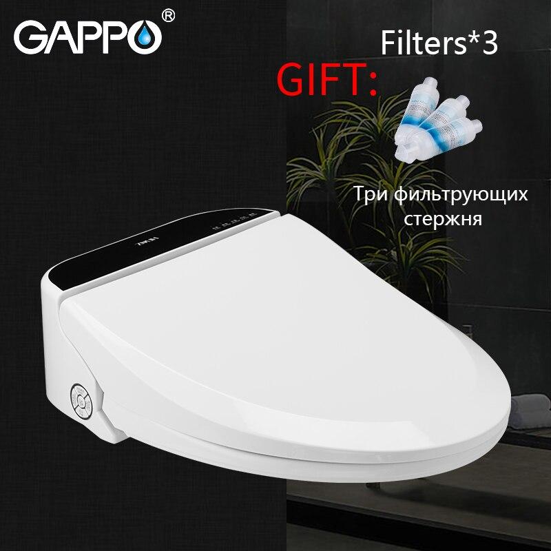 GAPPO Smart Sedili Wc Allungata bidet Coperchio Smart Bidet Sedili Wc intelligente Asciutto e Pulito Wc coprire washlet copertura riscaldata