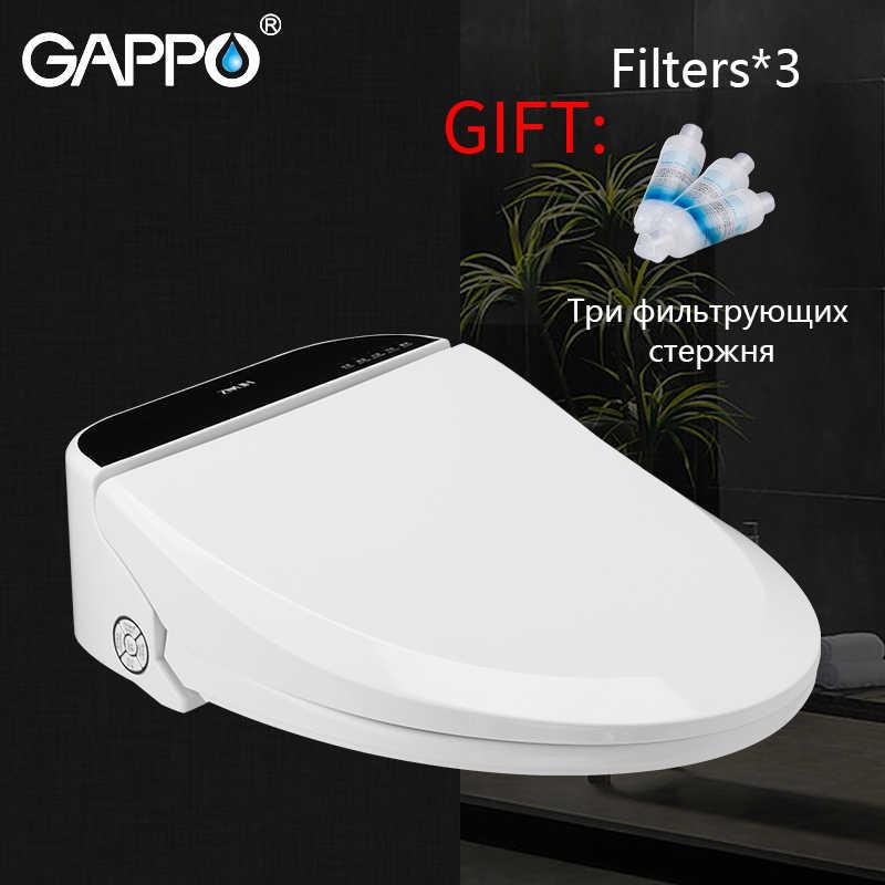 Gappo Smart Toilet Seats Elongated Bidet Lid Smart Bidet Toilet Seats Intelligent Clean Dry Toilet Cover Cover Heated Aliexpress