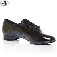 Hombres Zapatos de Baile BD 309 BRILLANTE Estándar Doble Suela de baile de salón de Baile Zapatos de Baile Moderno de Baile Deportivo Zapato de Interior