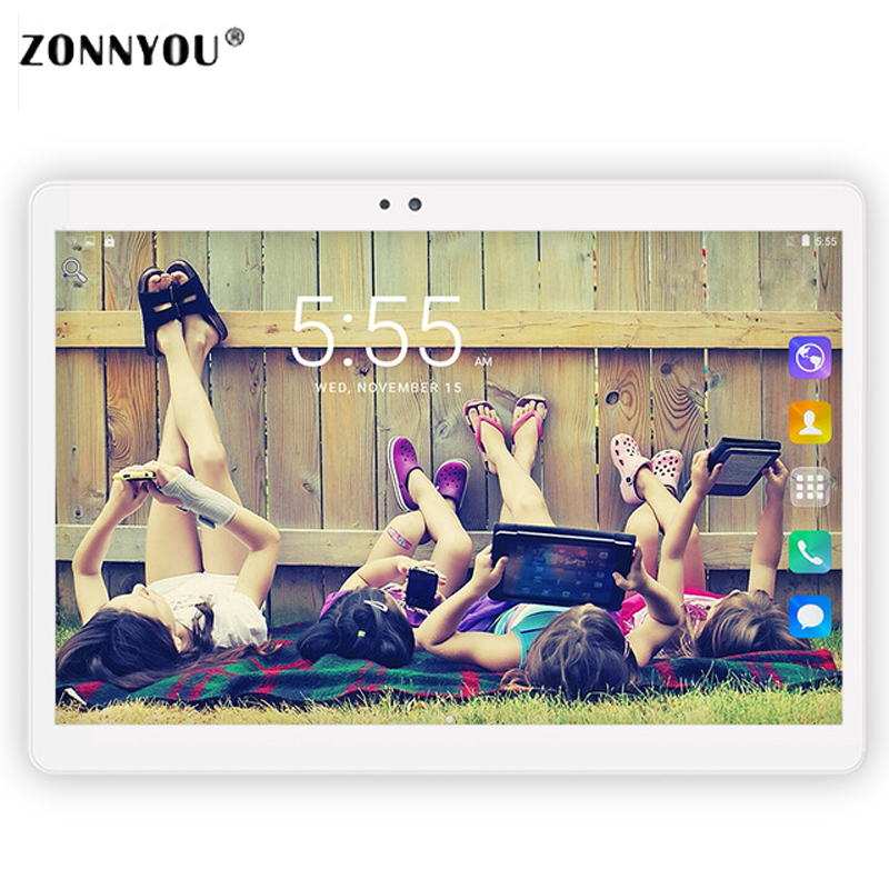 10 1 inch Tablet PC Octa core Android 6 0 3G Call Phone 4GB ROM 32GB