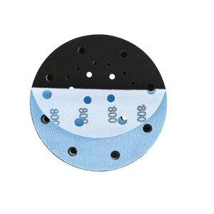 Image 5 - 45PCS 6 Inch 150mm 17 Holes Soft Film Sanding Disc Sandpaper 600 to 5000 Grits for Wet/Dry Automotive Paint Sanding