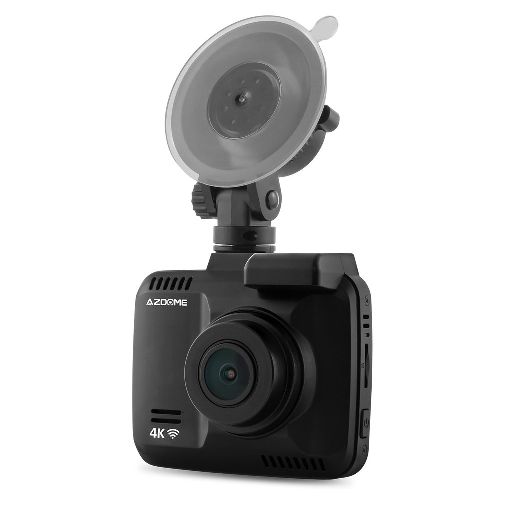 Azdome GS63H WiFi Car DVR Recorder Novatek 96660 Camera Built-in GPS Camcorder 4K 2880x2160P Night Vision G-sensor Dash Cam dual lens wifi car dvr camera video recorder novatek 96660 built in gps 4k dash cam 2880x2160p dual cameras for front and rear