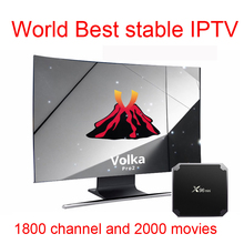 Android tv box Volka Iptv Subscription French Arabic Europe World IPTV abonnement  year channel code Mag250 x96