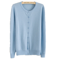 Free Shipping Sale Price Fashion New Cashmere Sweater Women S Outwear O Neck All Match Full