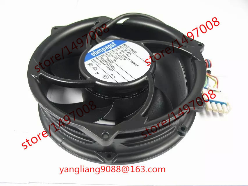 Free Shipping For papst 6318/19HPU 6318 19HPU AC 48V 30W 4-wire 4-Pin connector 60mm Server Round Cooling fan free shipping ce 7020l 02 dc 12v 250ma 4 wire 4 pin connector 60mm server blower cooling fan