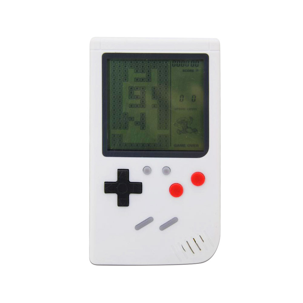 купить KaRue 10 Pcs Mini Classic Tetris Mini Game Console Classic Nostalgic Handheld Video Game Console