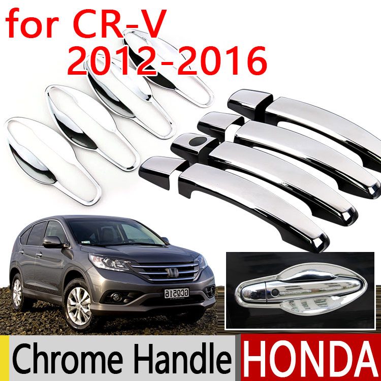 Hot sale for honda crv cr v 2012 2016 accessories chrome door handle 2013 2014 2015 car covers for 2014 honda cr v exterior accessories