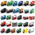 12 pçs/lote thomas e amigos anime modelo de trens de madeira brinquedo thomas trens great kids toys para presentes de natal das crianças
