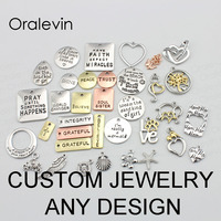 Custom Your Own Pendant Charms Necklace Jewelry Any Design CONTACT WITH US BEFORE YOU PLACE ORDER