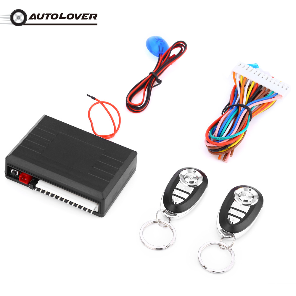 Universal LB-405 Car Keyless Entry System Alarm Systems Auto Remote Central Kit Door Lock Central Locking Power Window Switch