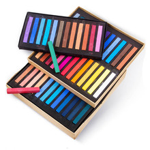Maries Painting Crayons Soft Dry Pastel 12/24/36/48 Colors/Set Art Drawing Set Chalk Color Crayon Brush Stationery for Students