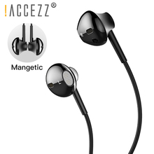 !ACCEZZ 2 in 1 Magnetic Earphone For iphone XS MAX XR X 8 7 Plus Phone Charging Lighting Adapter In-Ear Earphones ipad Mini