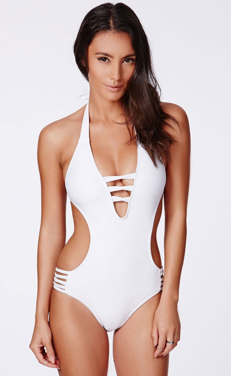 Bikini one piece swimsuit womens