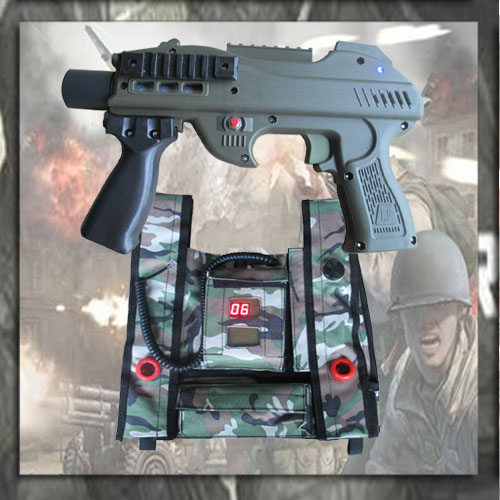 180M Lazer Tagno Laser,Durable Handgun,Vest With -1775