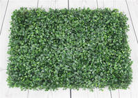 SPR 60x40cm Artificial Boxwood Hedges Panels Decorative Garden Grass Fencing Sythenic Buxus Boxwood For Garden Decoration