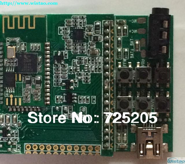 Módulo Bluetooth CSR8645 ROM Bluetooth4.0 Mulitiport Saída Suporte APT-X Decoding Com Placa Chave DIY RoHS da Alta Qualidade