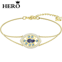 HERO Original, High Quality 1:1 SWA, Beloved Demon Eye Plated Gold Bracelet With Logo.