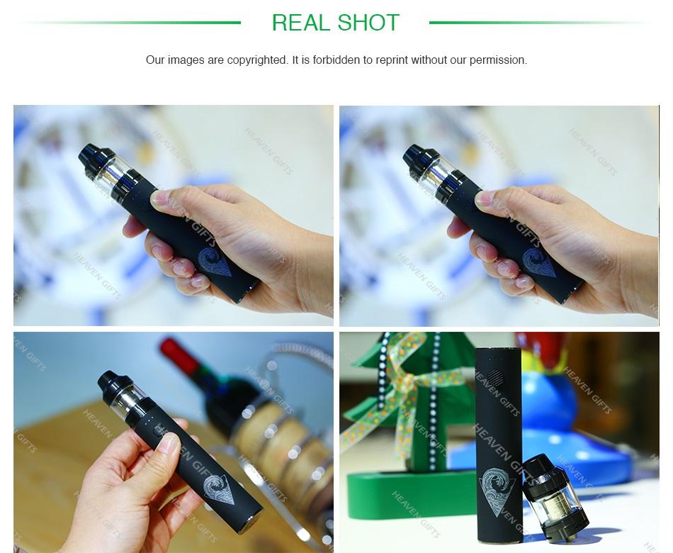 , Original Innokin RipTide Crios Vape Kit 3000mAh Battery 2ml/4ml Crios Tank 0.25ohm Coil Head DTL Vaping Pen-stlye E-cig Kit