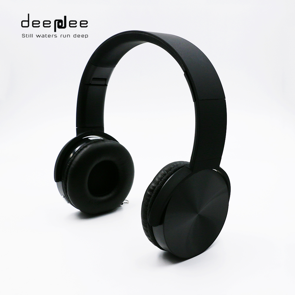 DEEPDEE Wireless Bluetooth Headphone Stereo Sports Music Bass Headset with HIFI Mic for Bluetooth Devices Noise Cancelling
