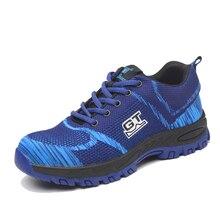 AC13004 Anti-smashing Ankle Footwear Steel Toe Work Safety Shoes Safety Shoes Lightweight Safety Shoes Air-permeable Smash Boots цены