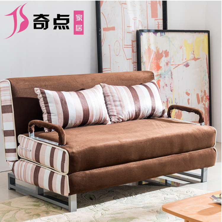 Small Apartment With Foldaway Features: Multi Function Folding Sofa Bed Small Apartment Washable