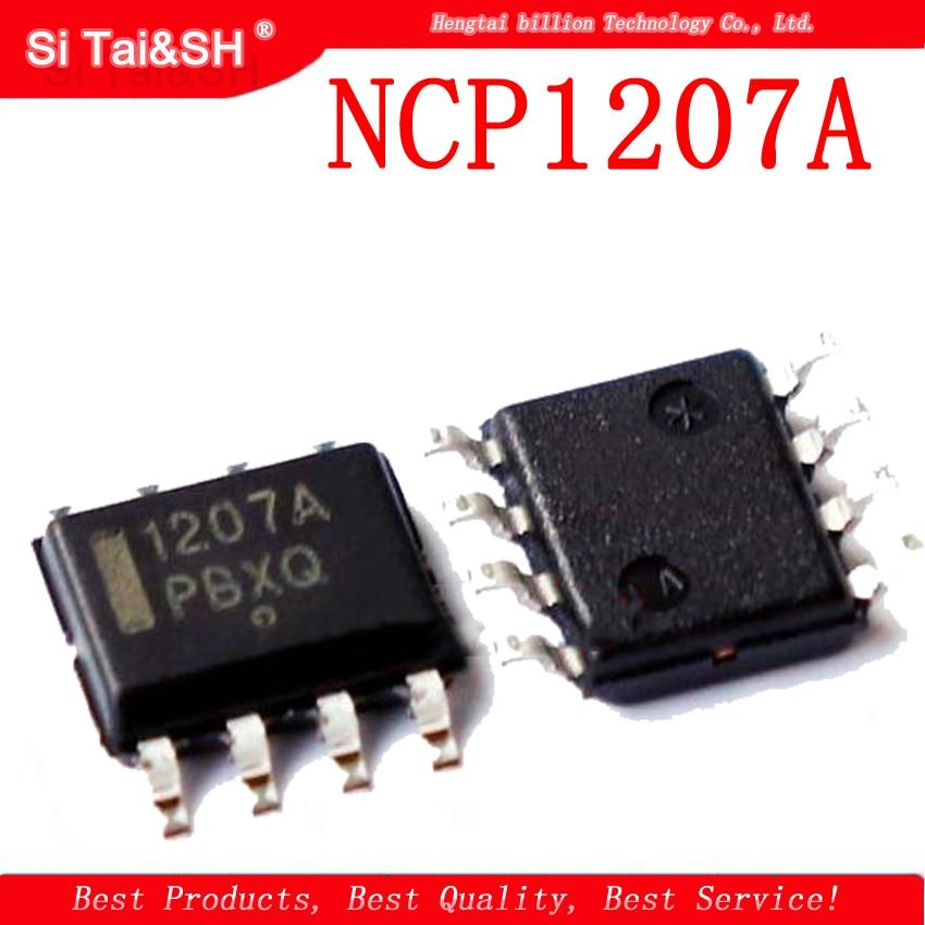 1pcs NCP1207A SOP-8 NCP1207 NCP1207ADR2G NCP1207ADR SOP 1207A SMD LCD Power Chip