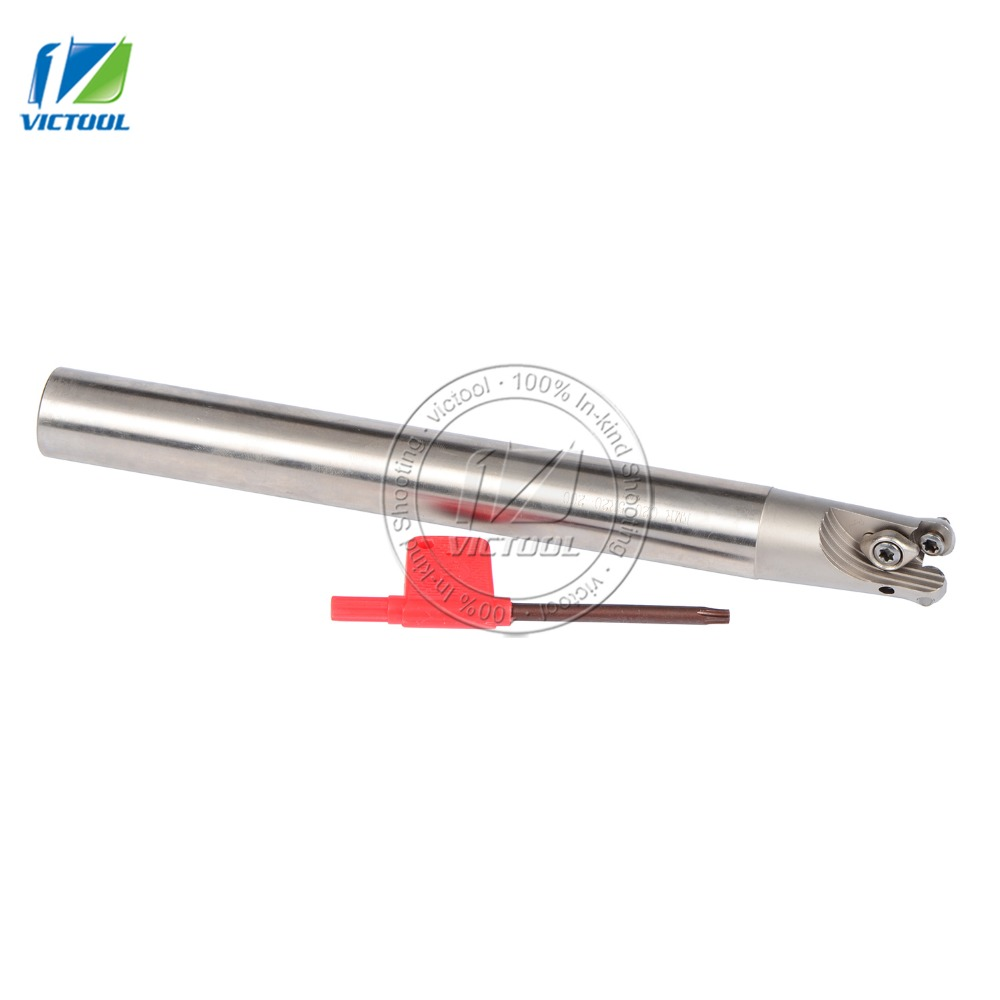 EMRC20-5R20-200-2T  indexable End Mill,Milling tool  Cutter For Milling Machine,2T Dia 20mm For  Inserts 20 200