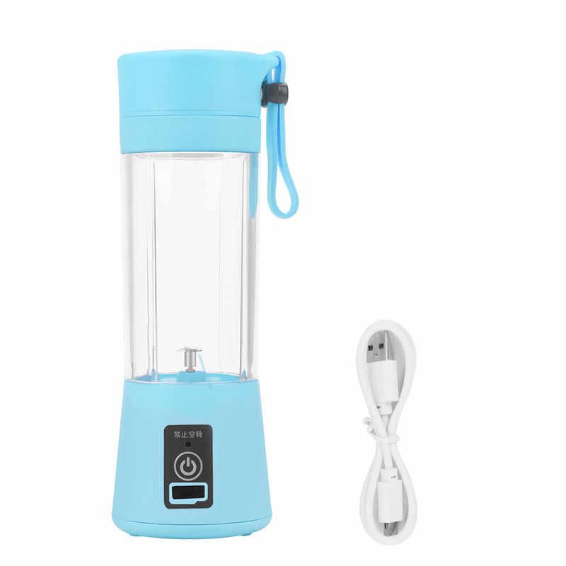 Rápida Do Motor Elétrico Portátil USB Recarregável Multifuncional Suco Espremedor de Frutas Liquidificador Milkshake de Misturador Moedor Máquina do Fabricante 49