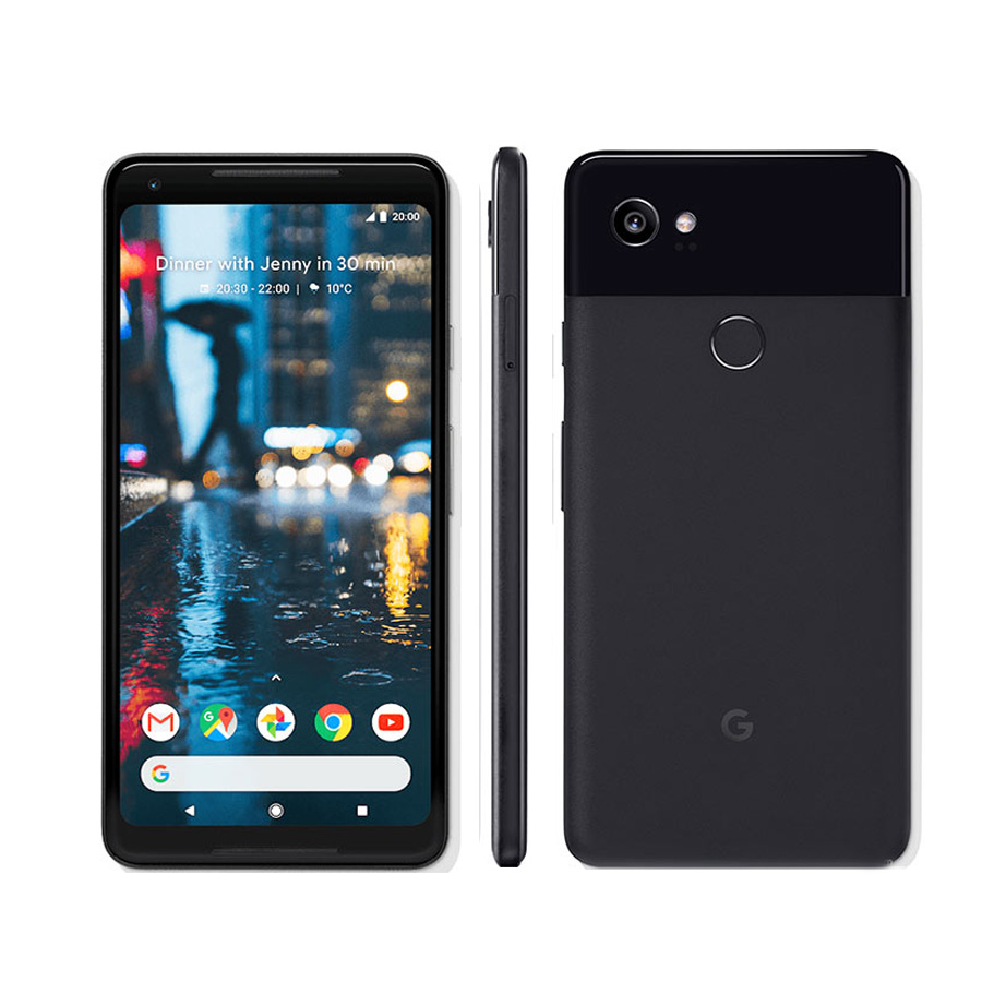 US version Google Pixel 2 XL 4G LTE Mobile Phone 6.0 4GB RAM 64GB/128GB ROM Octa Core Snapdragon 835 Android 8.0 Fingerprint image