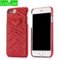 Lovecase ترف الأزياء الحب نمط آيفون x 3d الطباعة التكنولوجيا ل iPhone8 8 زائد 4.7 بوصة 5.5 بوصة الهاتف الغلاف
