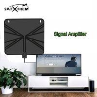 스페인 제공 디지털 HDTV 안테나 CTH-158A 평면 면도기 50 마일 Range13ft 동축